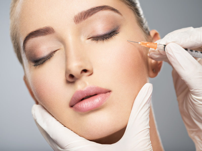 BOTOX wrinkle relazing injections